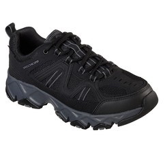 Skechers Nero Eww Molto Comode Scarpe Uomo Memory pelle Trail da Trekkin... - $39.99