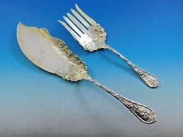 "Dauphin by Durgin-Gorham Sterling Silver Fish Serving Set GW Durgin Mark 10 1/2"" - $1,909.00"