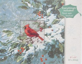 """Dimensions Counted Cross Stitch Daydreams Cardinal Kit 8"""" x 8"""" - $15.99"""