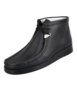 LibertyZeno Men's Genuine Leather High Top Moc Toe Desert Chukka Casual ... - $79.99