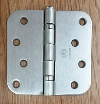 Penrod Door Hinges - Satin Nickel - Ball Bearing 4 inch with 5/8 inch radius - 3 - $18.78