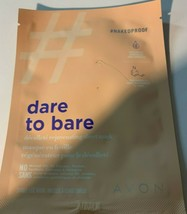 Avon Dare to Bare Naked Proof Decollete Rejuvenating Sheet Mask - $10.86