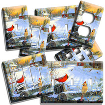 CARDINAL BIRDS CONTRY WINTER MORNING LIGHT SWITCH OUTLET WALL PLATES ROO... - $10.99+
