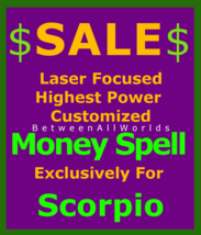 gvl Wealth Prosperity Billionaire Magick 4 Scorpio Betweenallworlds Weal... - $129.50