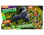 New Teenage Mutant Ninja Turtles Ninja Stealth Bike with Exclusive Raphael