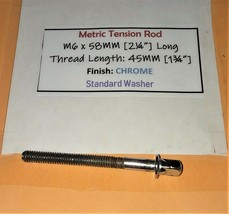 "Standard Tension Rod [M6x2¼""] FOR Snare / Tom ML31 (QTY: 1) - NICE! - $3.95"