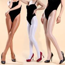 Super Elastic High Gloss Shiny Glossy 70 Denier Pantyhose Tights Hosiery Hose - $9.89