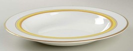 "WATERFORD DAVID CANARY 11"" RIM SOUP/PASTA BOWL BONE CHINA MADE IN ENGLAN... - $99.50"