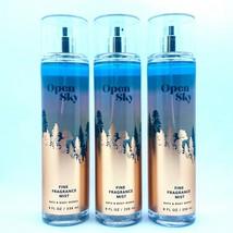 3-Pack Bath Body Works OPEN SKY Fine Fragrance Mist Spray 8 fl.oz - $33.20