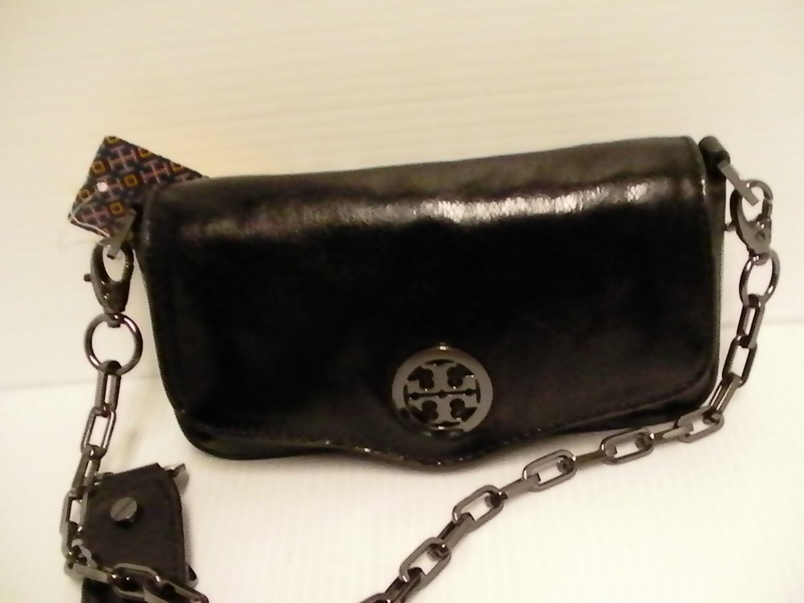 Tory burch crossbody black classic mini bag retail new