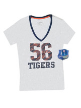 Auburn Tigers #56 Sequined White Women's Shirt Size M - NWT $29.99 - $13.86
