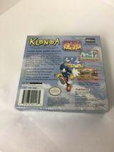 GBA Klonoa Empire Of Dreams ORIGINAL BOX & MANUAL ONLY No Game image 4