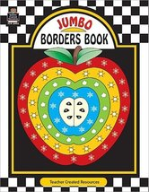 Jumbo Borders Book Teacher Created Resources Staff - $12.82
