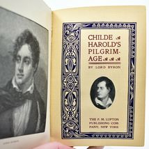 Childe Harold's Pilgrimage Lord Byron Lupton Publishing c. 1900? Hardcover Book image 8