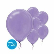 "New Purple Latex Round Balloons 12"" 72 Ct - $7.91"