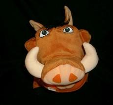 Disney lion king pumba 2003 hasbro 10260 stuffed animal rare toy movie - $23.01