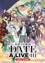 DATE A LIVE (III) Season 3 TV Series (1-12 End) English Subtitle Ship From USA