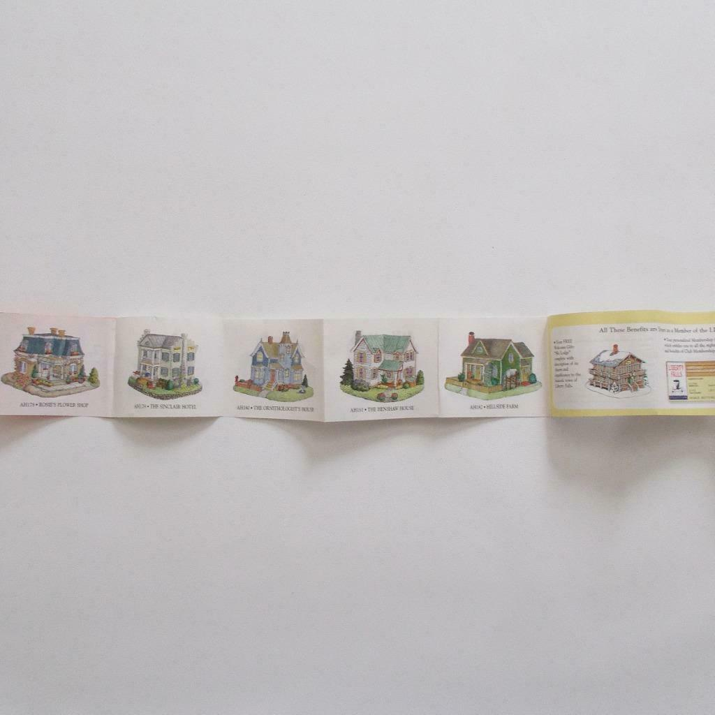 Liberty Falls Residential Layout House Village Accessory Dillards 1999