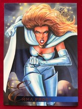Marvel Flair Annual 1995 #12 Emma Frost Single Card - $4.99