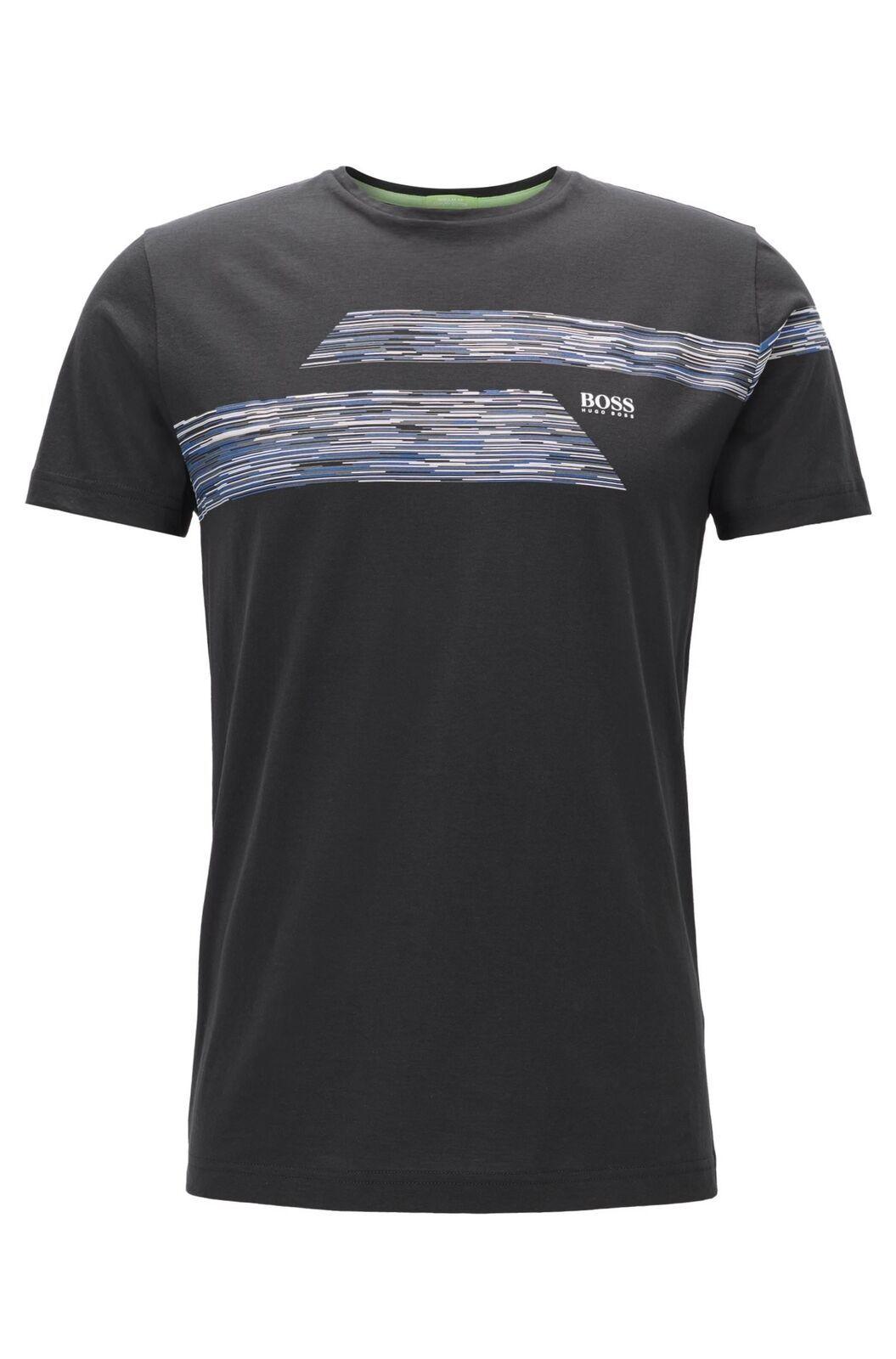 Hugo Boss Green Men's Graphic Premium Cotton Shirt T-shirt TEEP 1 50372545
