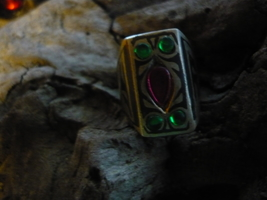 Paranormal Powerful Male Djinn Witch Own 100 Year Old Ring Size 6 - $500.00
