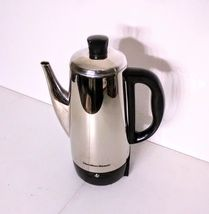 Hamilton Beach 40616 Stainless-Steel 12-Cup Electric Percolator - $36.00