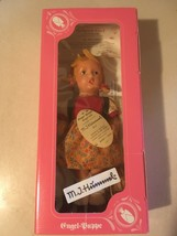 "c1990's M.J. HUMMEL GOEBEL VINYL DOLL ""SCHOOL GIRL"" #292027k GERMANY - $24.95"
