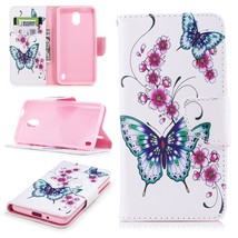 Pattern Printing PU Leather Wallet Stand Cell Phone Case for Nokia 2 - G... - $5.98