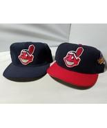 Cleveland Indians Mundial Serie Gorra Ajustada + Bonus Negro MLB Equipo ... - $106.74