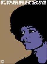 "20x30""Poster on Canvas.Interior design.Angela Davis Freedom.Black Panthe... - $60.78"