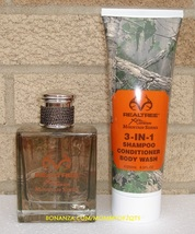 RealTree for Him Mountain Series Eau de Toilette 3in1 Shampoo Body Wash Unboxed - $25.00