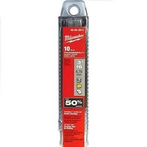 "Premium Milwaukee 48-89-2908 -Thunderbolt 8pk 1/4"" Black Oxide Drill Bits - $7.35"