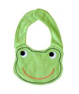 NEW Carter's Green Frog Terry Cloth Teething Unisex Baby Boy Girl Drool Bib - $3.95