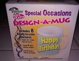 Kid's Craft Design a Mug 4th of July,birthday more 8 total designs by Da... - $3.50