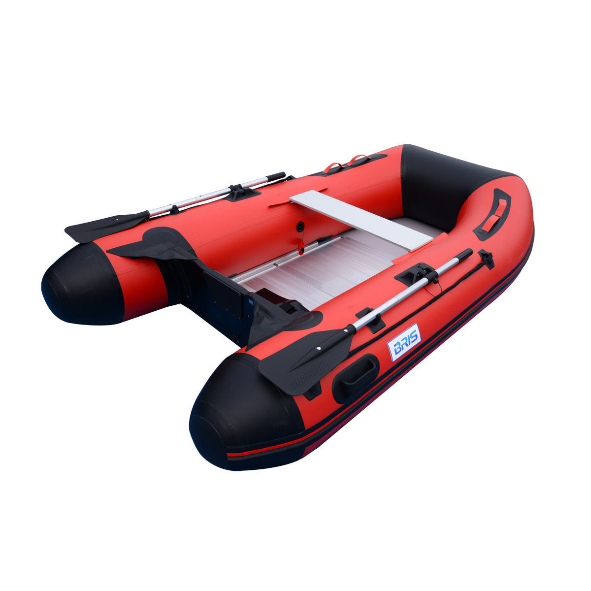 BRIS 8.8ft Inflatable Boat For Fishing Inflatable Tender Dinghy Pontoon Raft