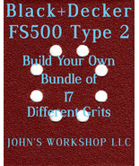 Build Your Own Bundle of Black+Decker FS500 Type 2 1/4 Sheet No-Slip San... - $0.99
