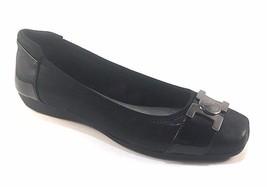 Anne Klein Sport Unalike Black Ballet Flats - $69.00