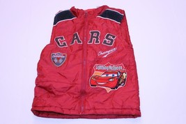 Youth Lightning McQueen CARS Sz 5 Vest (Red) Disney - $14.01