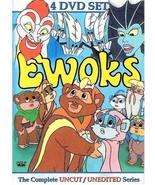 The Ewoks Complete Unreleased 1980's Cartoon Series 4 DVD Set. Free USA ... - $17.63