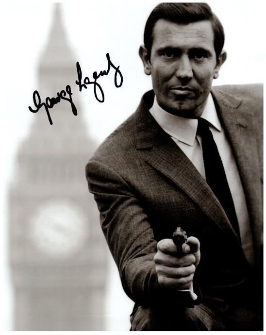 Primary image for GEORGE LAZENBY Authentic Autographed Signed Photo w/COA - 142
