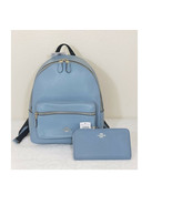 Coach Charlie Medium Backpack F30550  or wallet set Leather bookpack tra... - $94.05+