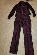 Womens Vintage Guess Jeans Bootleg Style Wash Size 29 W/Jacket Size Small - $45.99