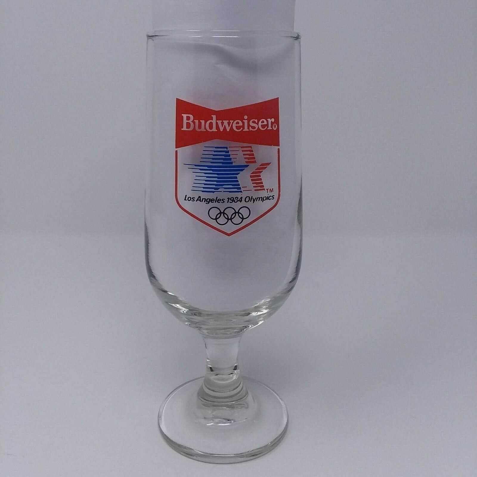 Vintage Budweiser Bud Light 1996 Atlanta Olympics Beer Bar Pint Glass