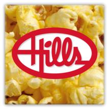 Hills Department Store Popcorn Snack Bar Metal Magnet - $12.87