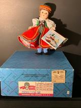 """Madame Alexander 8"""" Czechoslovakia  Doll - $15.00"""