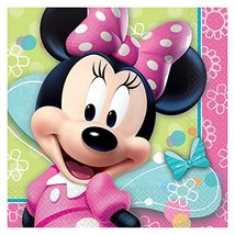 Minnie Mouse Lunch Napkins Pack of 16 Count - $12.73