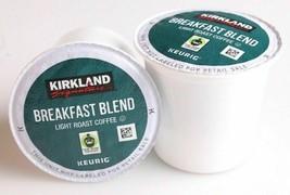 New Kirkland Breakfast Blend Light Roast Coffee Keurig 12, 24, 36, 72 K-Cup Pods image 2