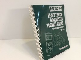 1987-2010 MOTOR Heavy Truck Diagnostic Trouble Codes Manual NICE - $39.99