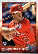 2015 Topps Update #US148 Taylor Featherston Los Angeles Angels Rookie Card - $1.25