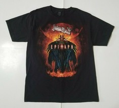 Judas Priest Mens M Epitaph World Tour T-Shirt Band Tee Double Sided Black - $29.99